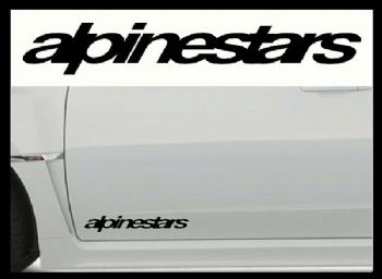 ALPINESTARS CAR BODY DECALS